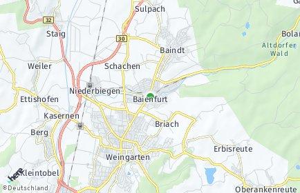Stadtplan Baienfurt