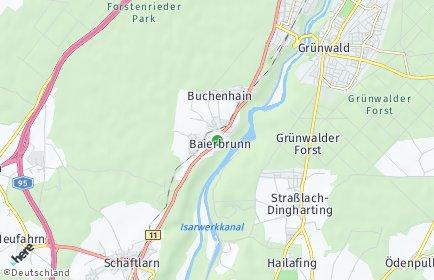 Stadtplan Baierbrunn