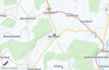 Stadtplan Baisweil