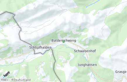 Stadtplan Balderschwang