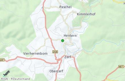 Stadtplan Baldringen