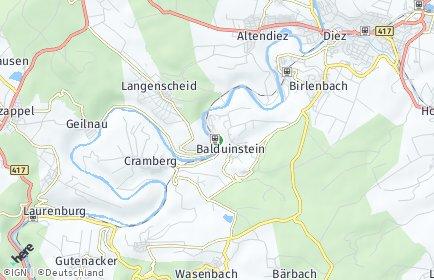 Stadtplan Balduinstein