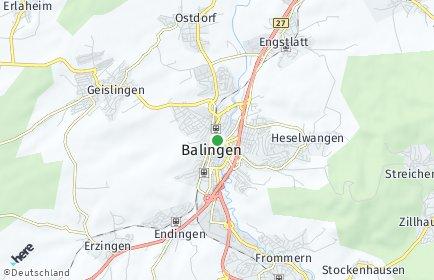 Stadtplan Balingen