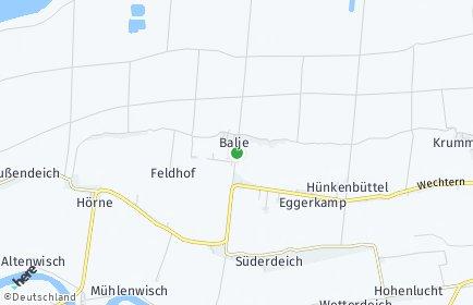 Stadtplan Balje