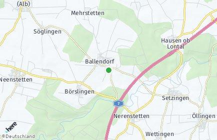 Stadtplan Ballendorf