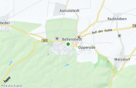 Stadtplan Ballenstedt