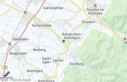 Stadtplan Ballrechten-Dottingen