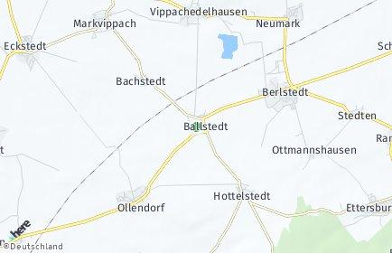 Stadtplan Ballstedt