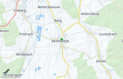 Stadtplan Balzhausen