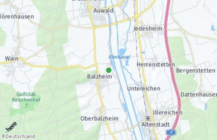 Stadtplan Balzheim