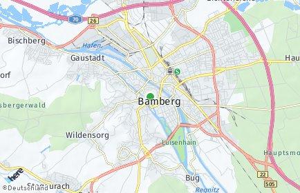 Stadtplan Bamberg