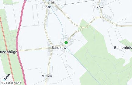Stadtplan Banzkow