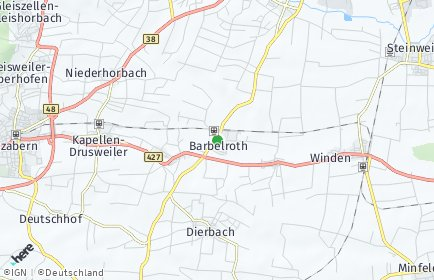 Stadtplan Barbelroth