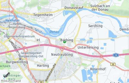 Stadtplan Barbing