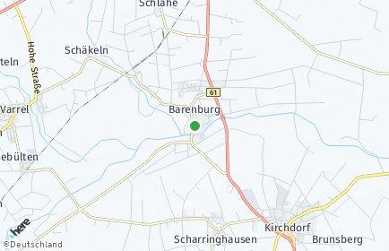 Stadtplan Barenburg