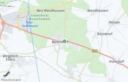 Stadtplan Barendorf