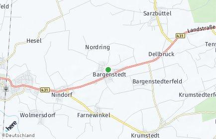 Stadtplan Bargenstedt