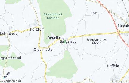 Stadtplan Bargstedt (Holstein)