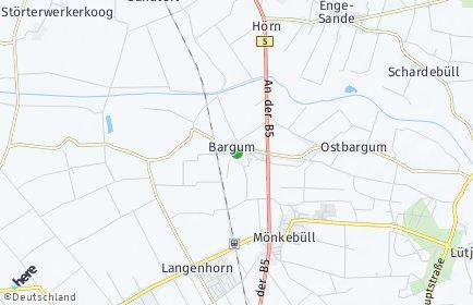Stadtplan Bargum