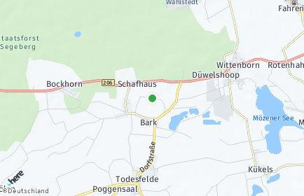 Stadtplan Bark bei Bad Segeberg