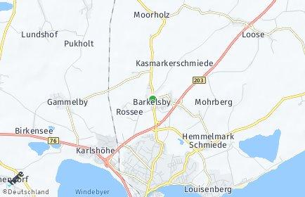 Stadtplan Barkelsby