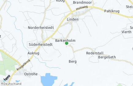 Stadtplan Barkenholm