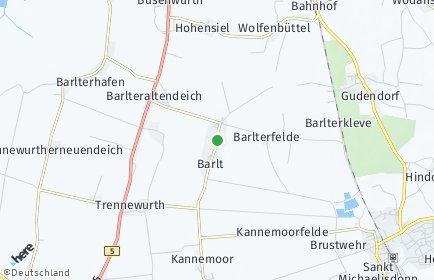 Stadtplan Barlt