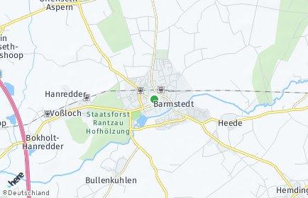 Stadtplan Barmstedt