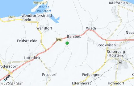 Stadtplan Barsbek