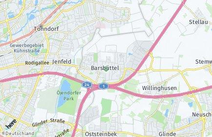 Stadtplan Barsbüttel