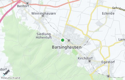 Stadtplan Barsinghausen