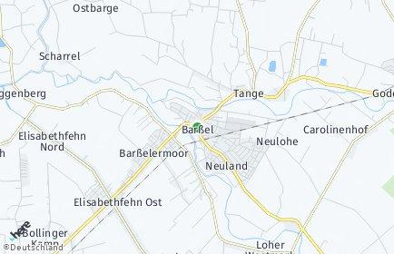 Stadtplan Barßel