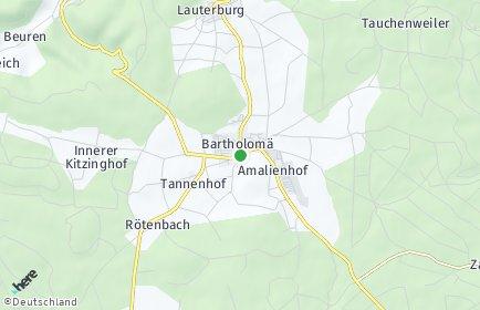 Stadtplan Bartholomä