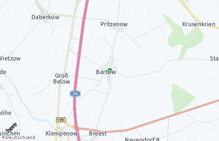 Stadtplan Bartow