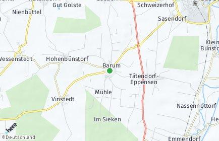 Stadtplan Barum (Landkreis Uelzen)