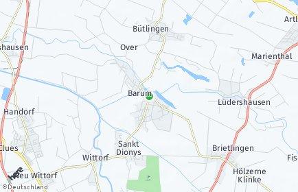 Stadtplan Barum