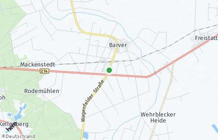 Stadtplan Barver