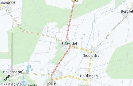 Stadtplan Barwedel