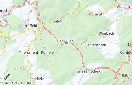 Stadtplan Barweiler