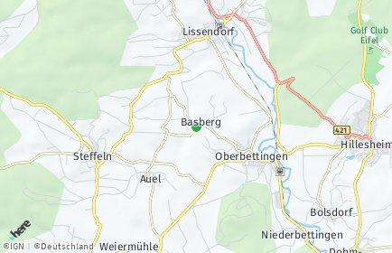 Stadtplan Basberg