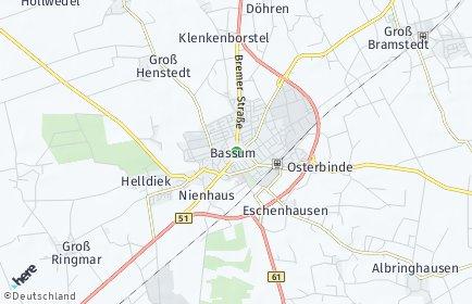 Stadtplan Bassum