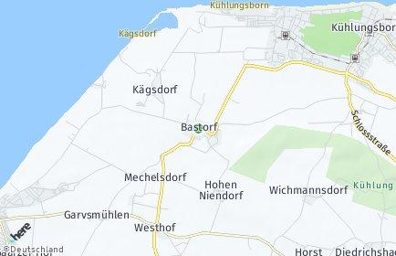 Stadtplan Bastorf