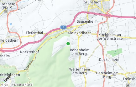 Stadtplan Battenberg (Pfalz)