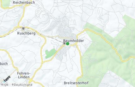 Stadtplan Baumholder
