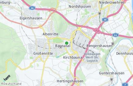 Stadtplan Baunatal