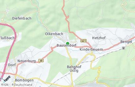 Stadtplan Bausendorf