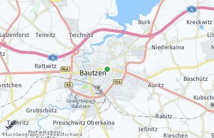 Stadtplan Bautzen
