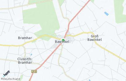Stadtplan Bawinkel