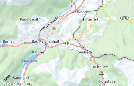 Stadtplan Bayerisch Gmain