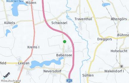 Stadtplan Bebensee